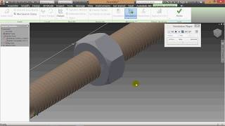 Download Nut Bolt Assembly & Dynamic Simulation Tutorial
