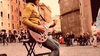Miguel Montalban - Bohemian Rhapsody (Queen) AMAZING street performance
