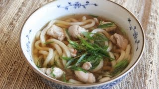 Chicken Udon Recipe   Japanese Cooking 101