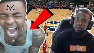 MAKING FLIGHTREACTS RAGE AND QUIT NBA 2K19!!