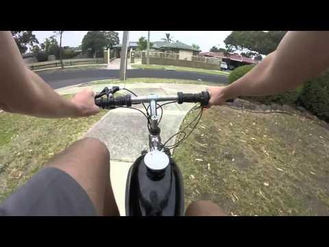 80cc Motorized Bicycle [GoPro]