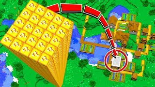 WORLD'S TALLEST MINECRAFT TOWER!