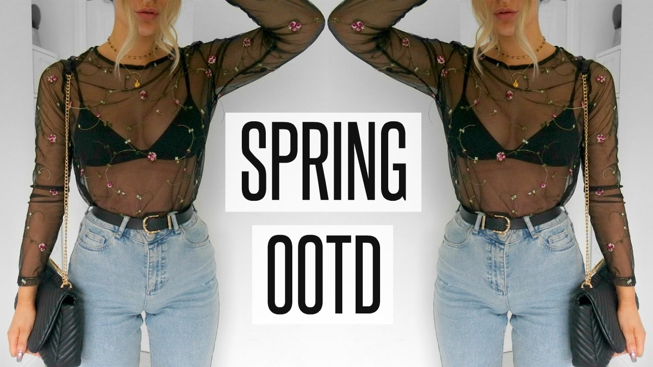 One Minute Spring OOTD | Fashion Influx
