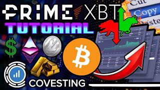 PRIME XBT Exchange Tutorial: How to Long or Short Bitcoin, FX, Gold | Copy Leverage Trading [Review]