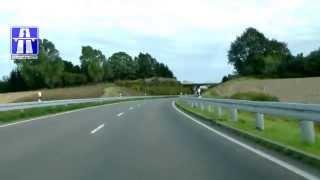 preview picture of video 'B166: AD Kreuz Uckermark - Zichow (2x)'