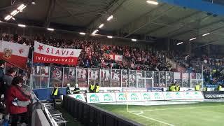 Tribuna Sever in Plzeň-Viktoria Plzeň vs SK Slavia Praha