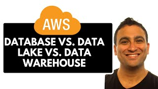 What is the difference between Database vs. Data lake vs.  Warehouse?