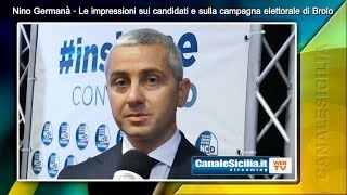 preview picture of video 'On.le Nino Germanà - Le impressioni sui candidati e sulla campagna elettorale di Brolo'