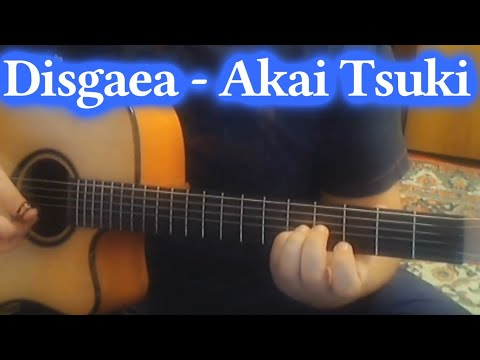 Красивая Музыка на гитаре из Аниме! Disgaea - Akai Tsuki