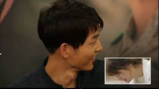DotS DVD Cut Group Commentary  English Sub - Song Joong Ki Feel Hurt