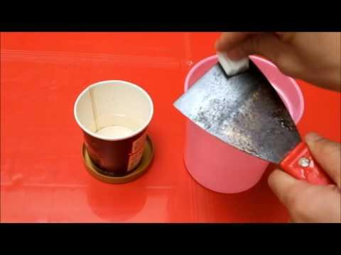 Video Cara Menghilangkan Karat Pada Besi dengan air Cuka | How to wash a metal