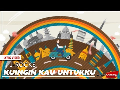 J-Rocks - Kuingin Kau Untukku | Official Lyric Video