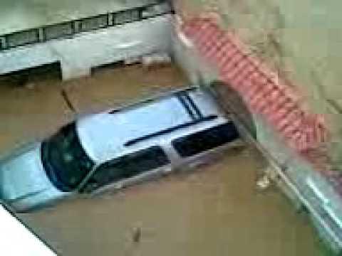 أمطار جدة وغرق منزل في قويزة رقم 1