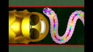 Wormax.io THE BEST WORM IN THE GAME // BIGGEST WORM (Epic Wormaxio Gameplay) Funny wormax.io moments
