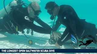 The Longest Scuba Dive -32 Days - Test Procedure Cylinder Change