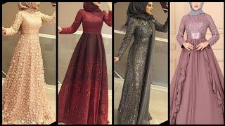Trendy Dubai Style Long Abaya Style Dresses //Hijab Outfits Collection //hijab Dresses Designs