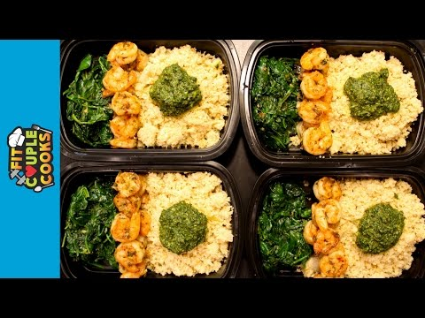Video How to LOW CARB Meal Prep - Ep. 18 - SHRIMP