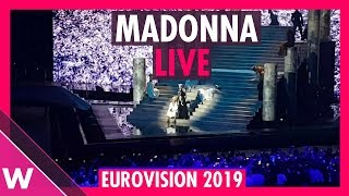 "Madonna ""Like A Prayer/Dark Ballet"" / ""Future"" (feat. Quavo) - Live At Eurovision 2019"
