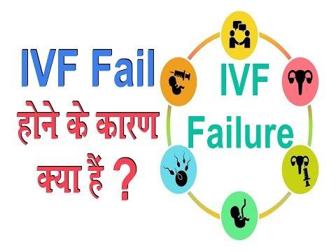 क्या हैं IVF Fail होने के कारण ?