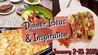 WHAT'S FOR DINNER? | JANUARY 2-10 | EASY MEAL IDEAS | MANDY IN THE MAKING