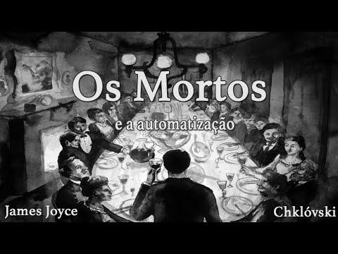 OS MORTOS e o automatismo ? James Joyce