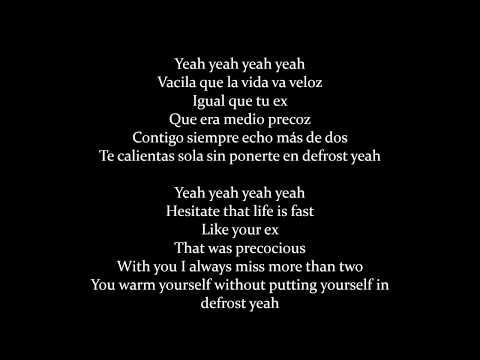 Enrique Iglesias, Bad Bunny - El Baño (Lyrics/Letra)