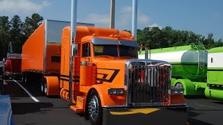 2014 Custom BIG RIGS video's 75 Chrome Shop, Custom Truck Show, Part 2