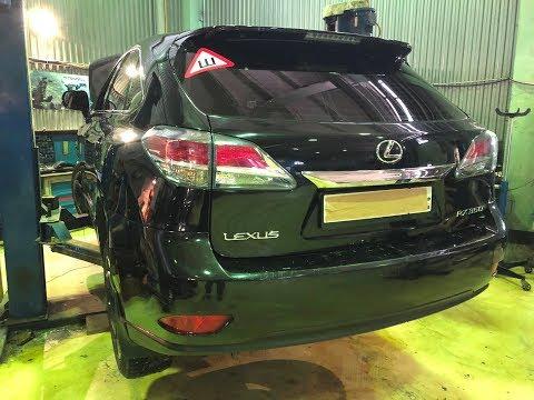 Lexus RX350 (2012-2015) - Устройство и слабые места автомобиля