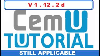HOW TO PLAY WII U GAMES ON PC USING CEMU (WORKS WITH CEMU 1.11.2)
