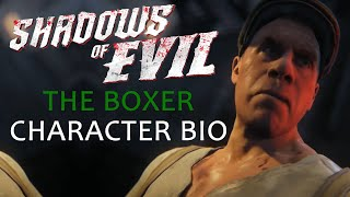 Shadows of Evil The Boxer | Floyd Campbell Character Bio | Shadows of Evil Storyline