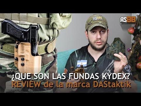 Fundas kydex para pistolas de DAStaktik / airsoftBB review