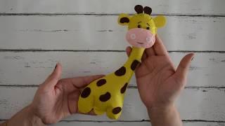 How To Make A Stuffed Toy Giraffe At Home   Felt Sheet Craft