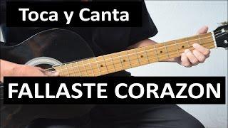 Como Tocar FALLASTE CORAZON De Pedro Infante.