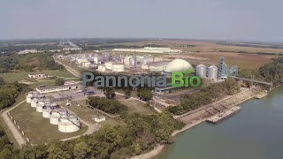 Pannonia Bio - Multi product biorefinery (Drone footages)