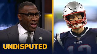Tom Brady undoubtedly has more pressure this season than Cam Newton — Shannon   NFL   UNDISPUTED