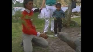 Michael Jackson on vacation (HD)