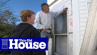 How to Install Window Casing for Vinyl Siding | This Old House