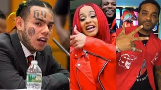 """6IX9INE Snitches On Jim Jones / Cardi B... """"They're Part Of What We've Done"""""""