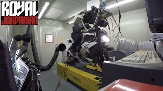 BMW S1000Rs Dyno run