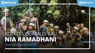 Potret Liburan Nia Ramadhani dan Keluarga di Bali, Cobain Arung Jeram hingga Naik ATV