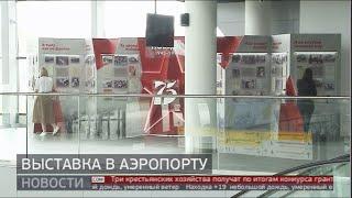 Выставка в аэропорту. GuberniaTV