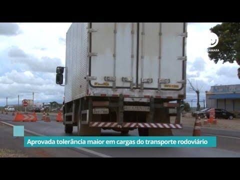 Aprovada tolerância maior em cargas do transporte rodoviário - 01/09/2021