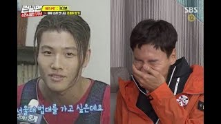 Running man members try not to laugh