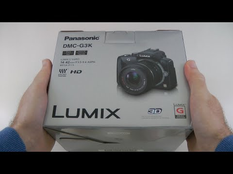 Panasonic Lumix DMC-G3 Digital Camera Unboxing & Product Tour