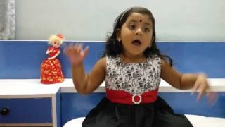 4year Vaishnavy singing pookkal panineer pookkal