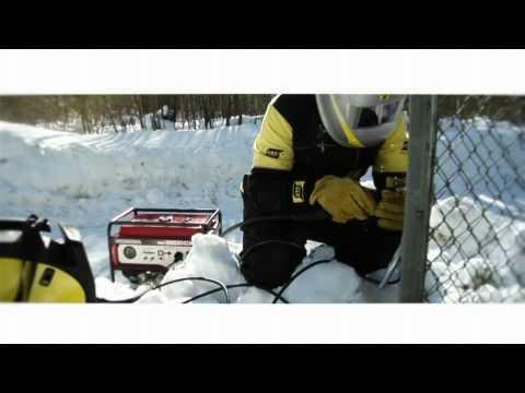 ESAB CaddyMig C160i C200i Promotional Demonstration Video