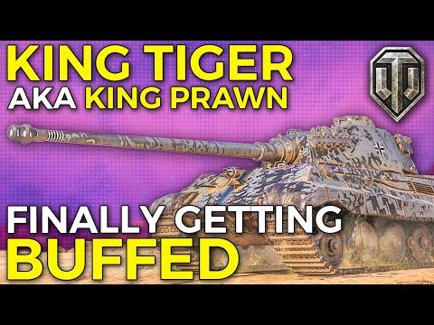 Tiger II Finally Getting Buffs! | World of Tanks King Tiger Gameplay