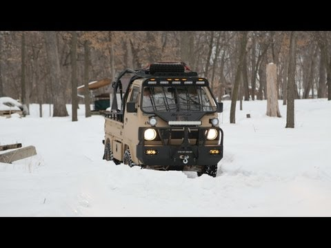Ai2 Products/Ashwill Industries Suzuki Carry off-road adventure vehicle concept truck