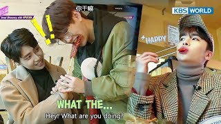 Seoul Discovery Tongin Market Tour with UP10TION [KBS World Idol Show K-rush2 / 2017.11.17]
