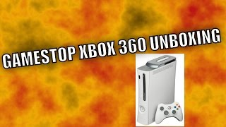 GAMESTOP PRE OWNED XBOX 360 UNBOXING.